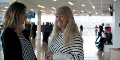 Birgitta Sefastsson, projektledare på Karlstad Convention Bureau