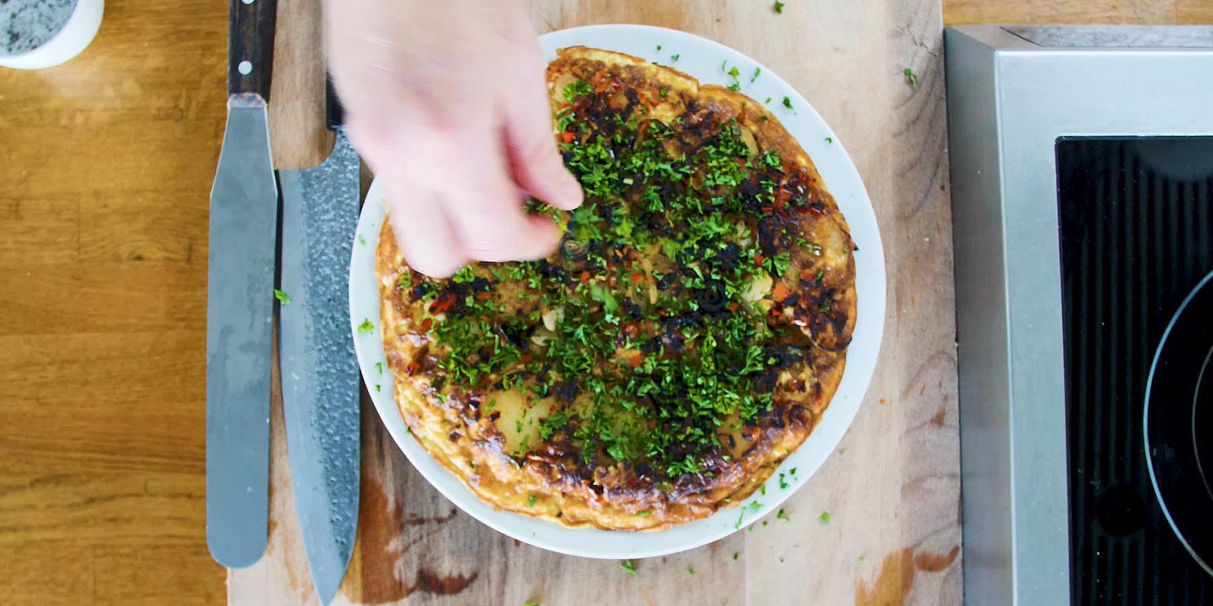 Omelett - Någonting att äta