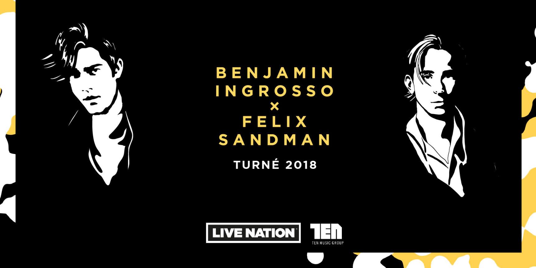 Benjamin Ingrosso och Felix Sandman