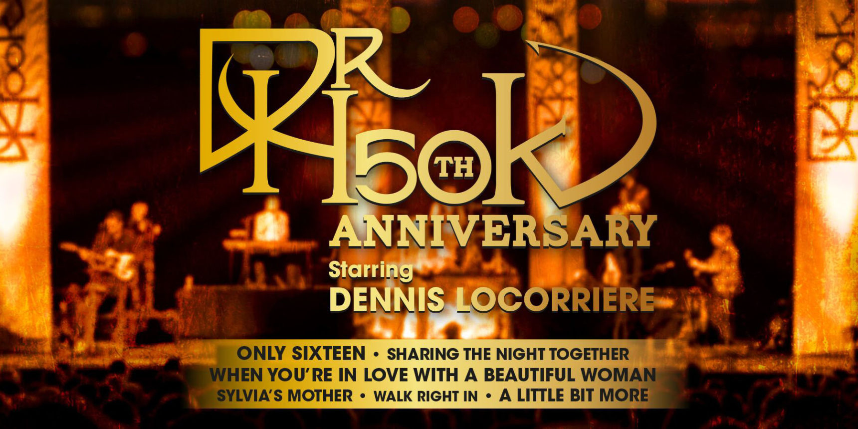 """Dr HOOK """"50th Anniversary Tour"""""""