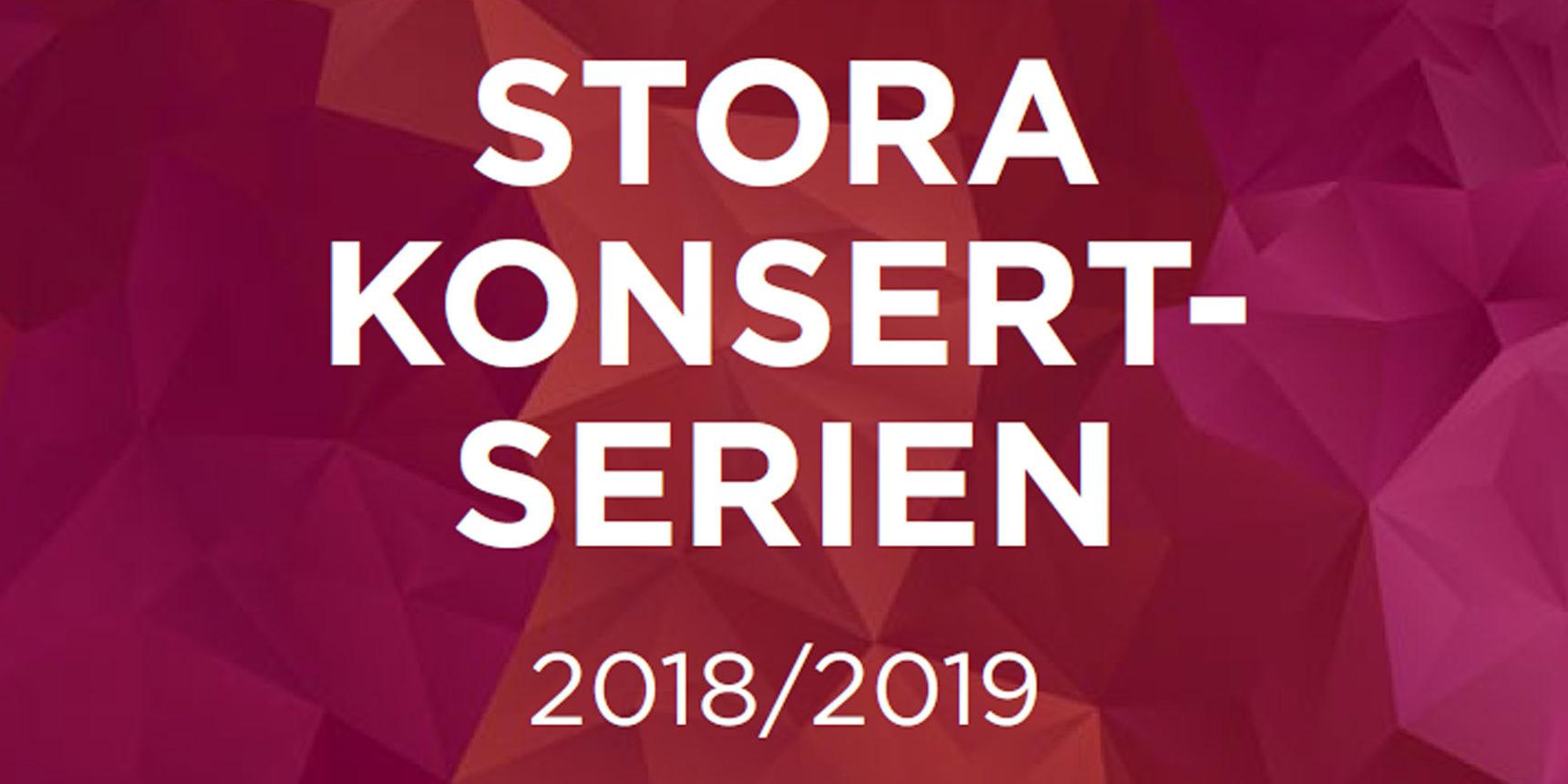 Stora Konsertserien 2018/2019