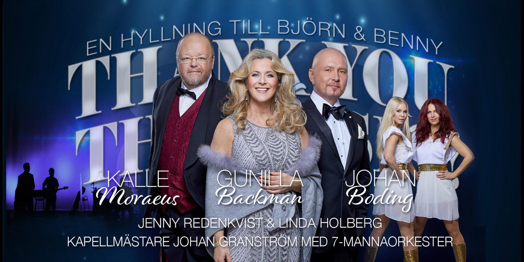 Bildresultat för thank you for the music karlstad