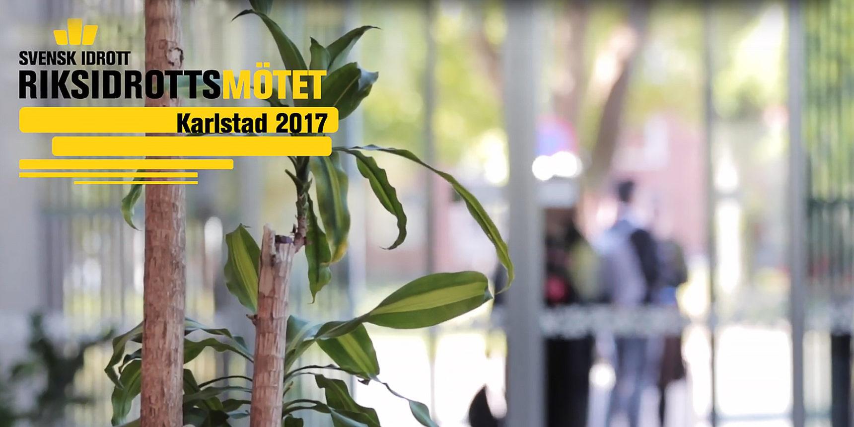 Riksidrottsmötet 2017 Karlstad