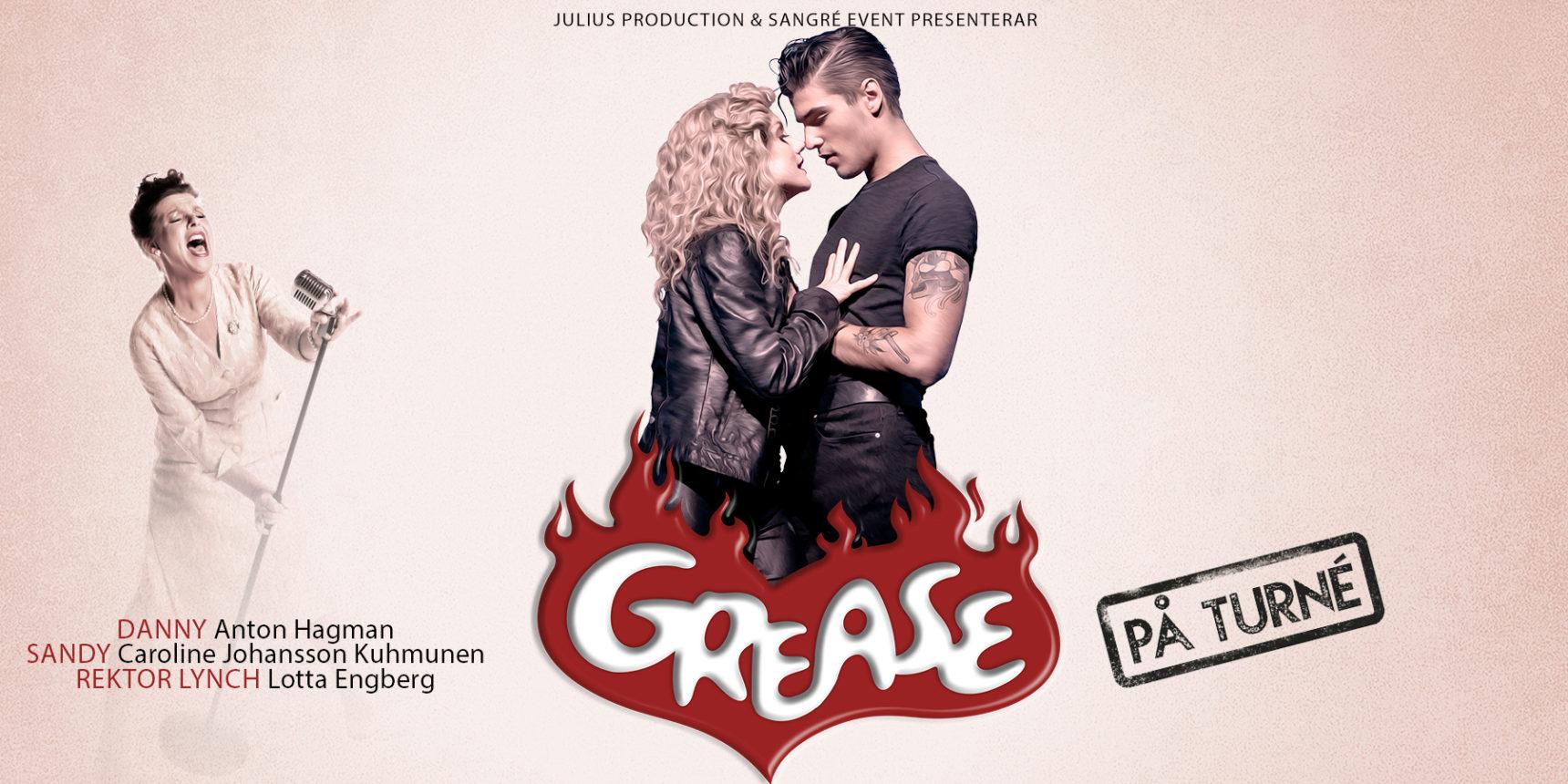 Grease på turné